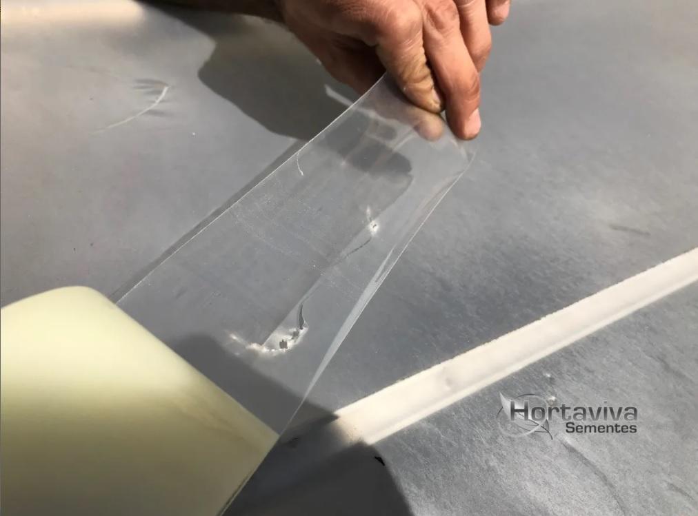 Fita Adesiva Para Reparo De Estufa - 7,5cm X 15 Metros
