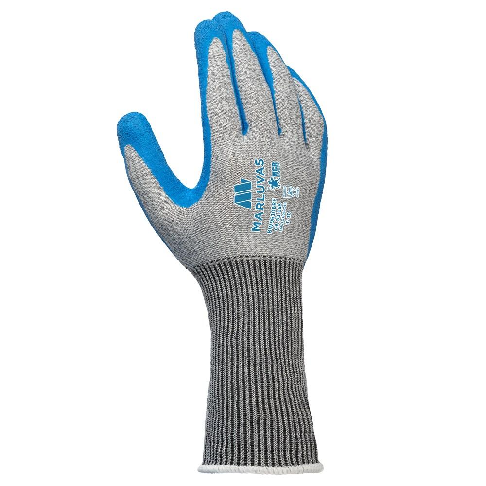 Luva Ultra Tech Cut5 Blue Punho Longo W 9610 Brf Marluvas