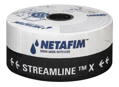 Mangueira de Irrigação por Gotejamento Stramline X Netafim - 2.000 Metros