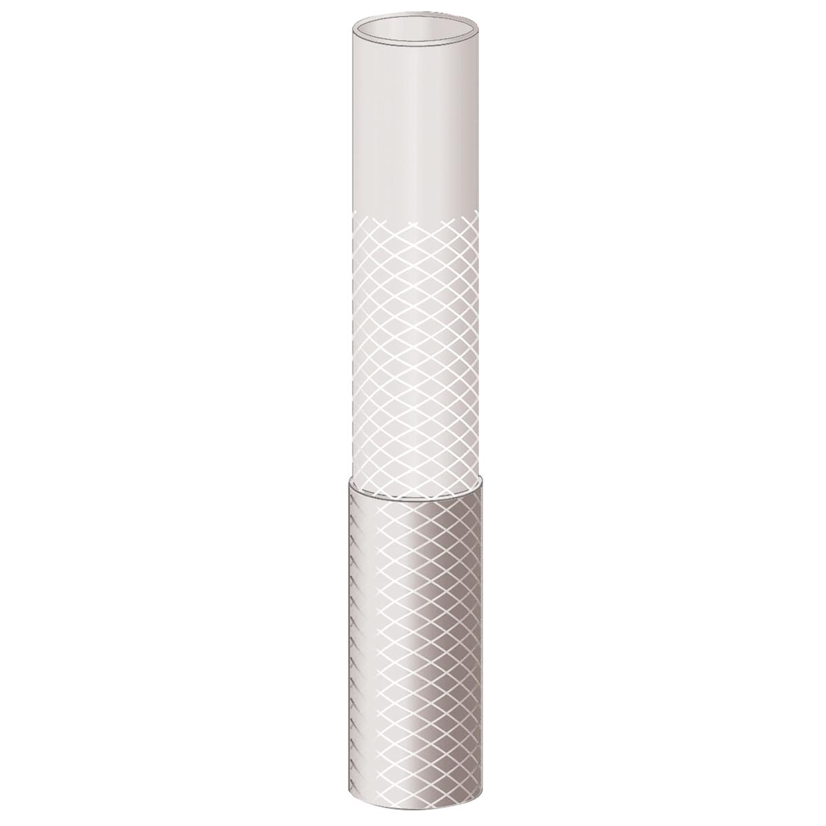 Mangueira Flex Transparente em PVC 3 Camadas Tramontina