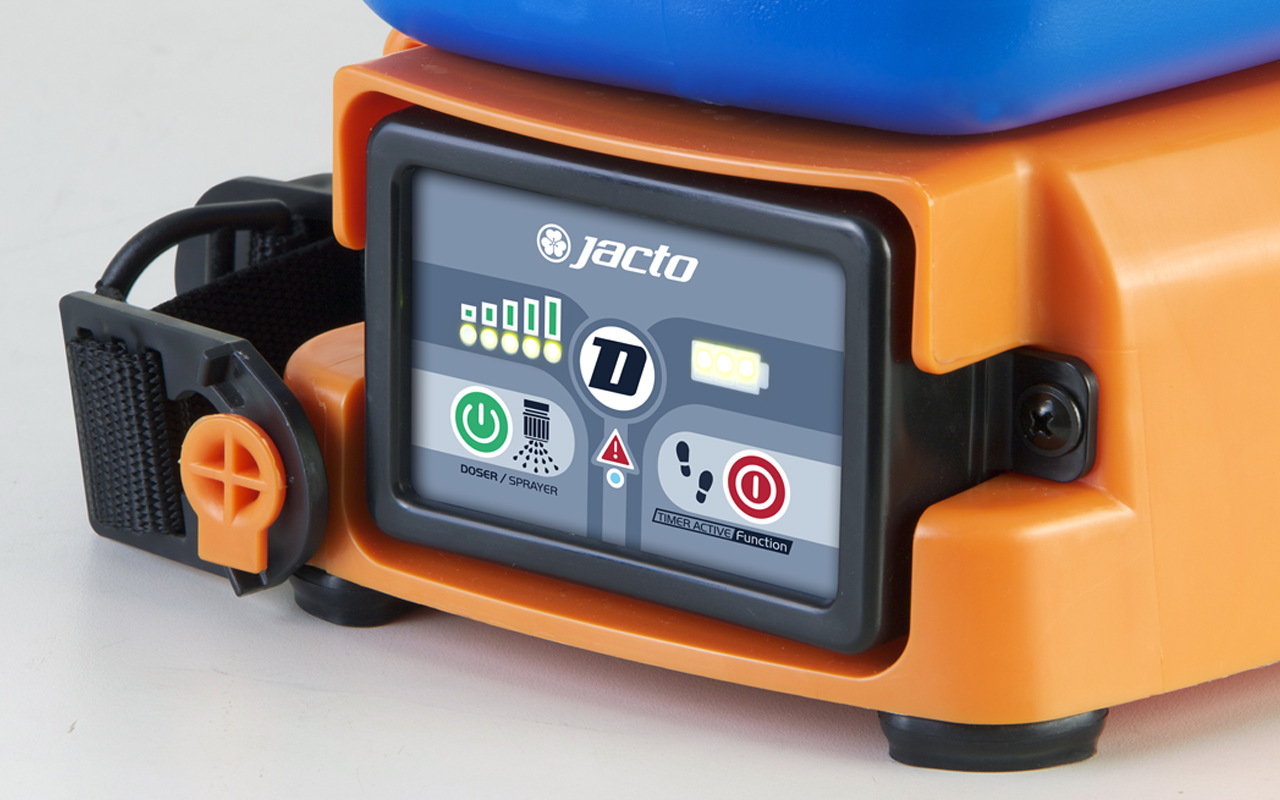 Pulverizador E Dosador Costal A Bateria Djb-20 Jacto