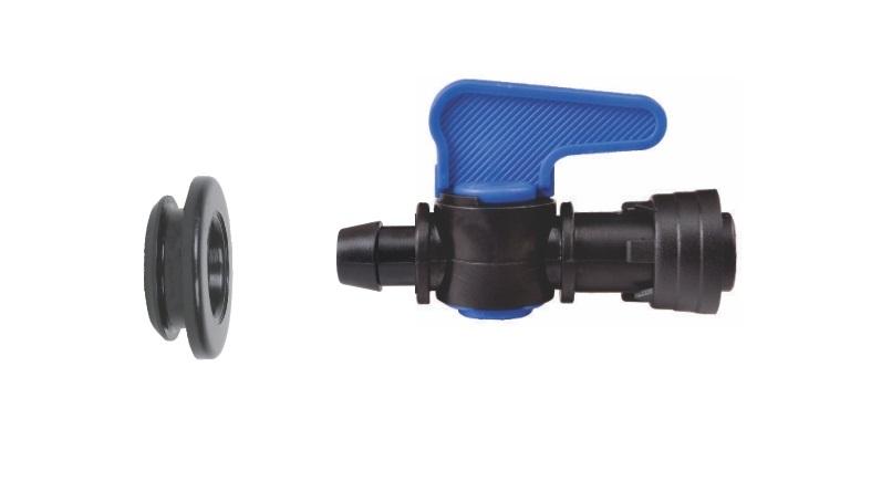 Registro Inicial com Anel de vedação para Tubo Cego 16mm