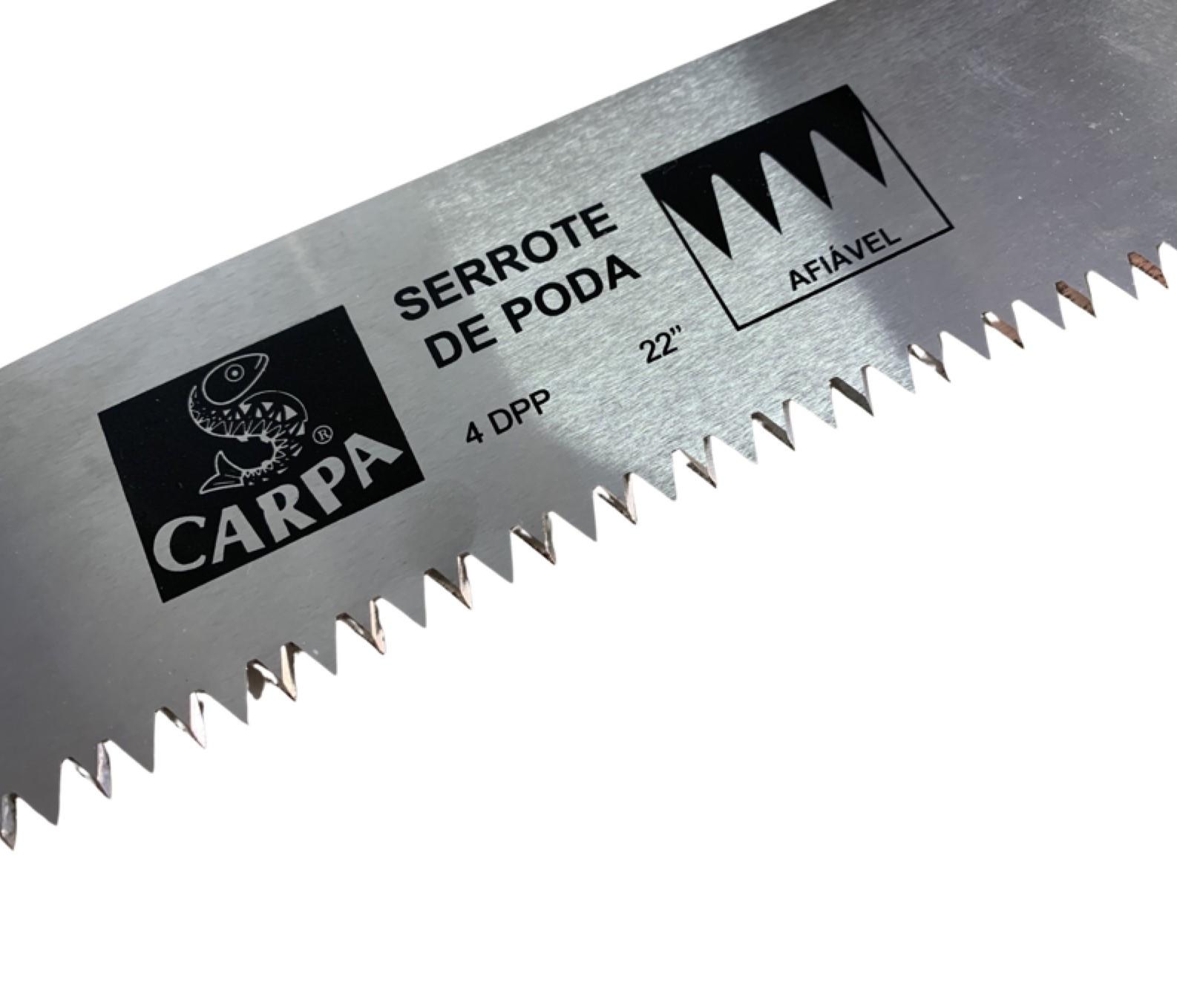 """Serrote De Poda Florestal Profissional 22"""" com Extensor Carpa"""