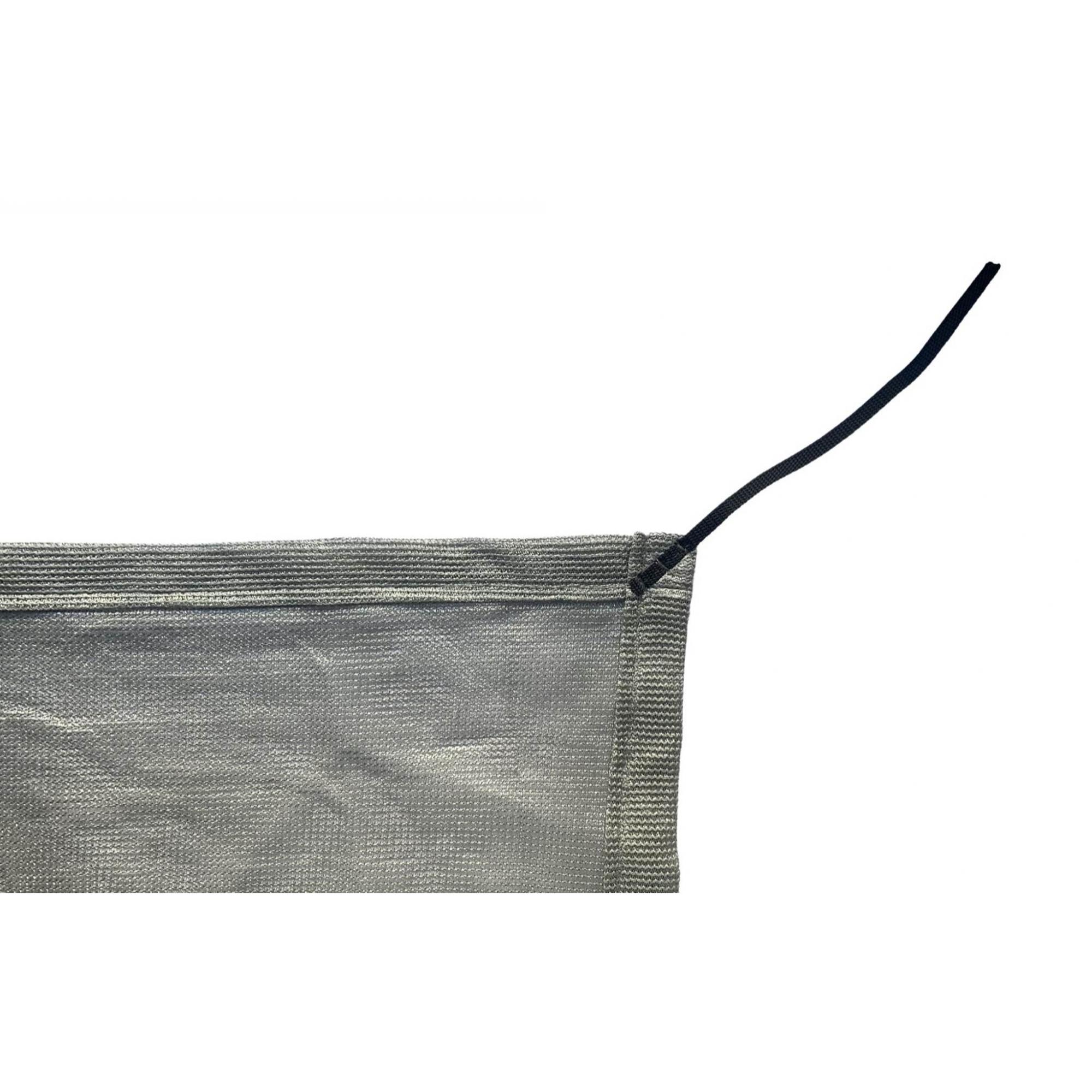 Tela de Sombreamento 80% Prata com Esticadores - Largura: 1 Metro