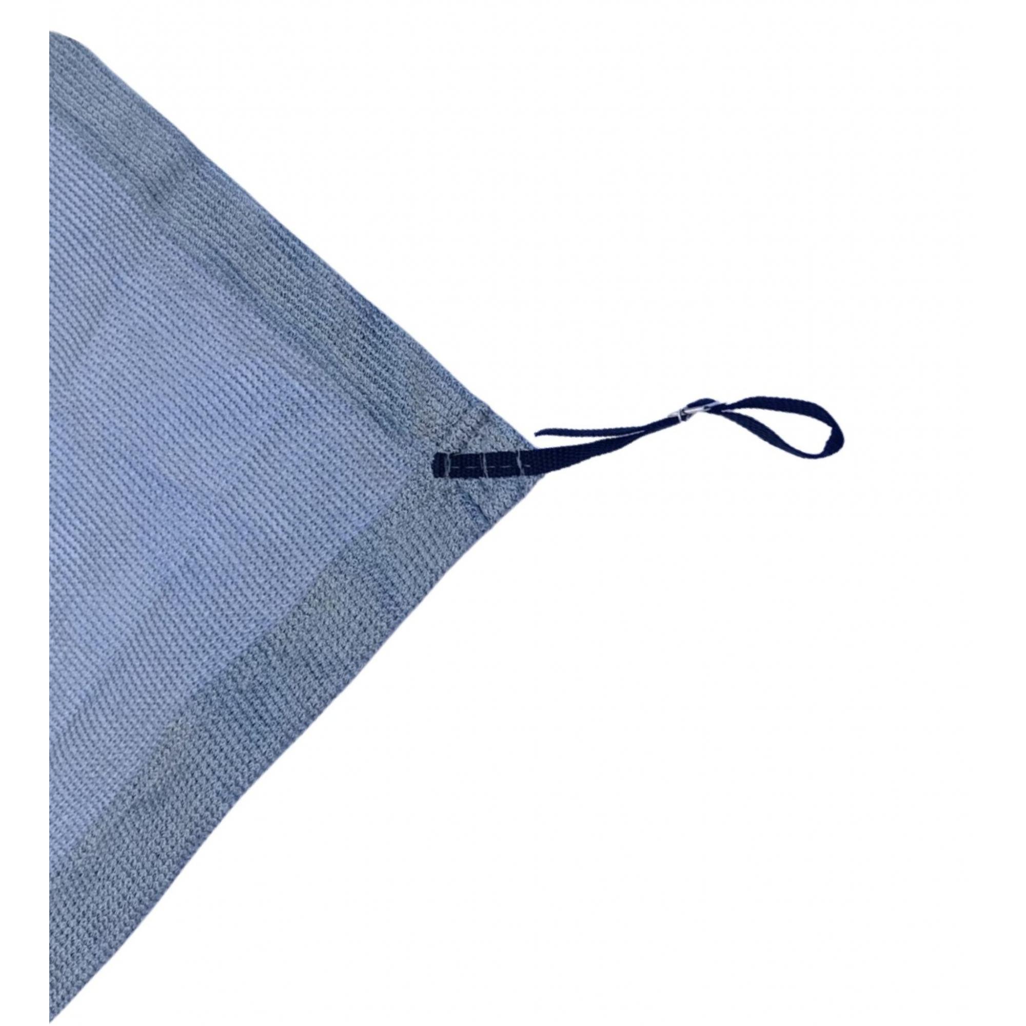 Tela de Sombreamento 80% Prata com Esticadores - Largura: 3,5 Metros