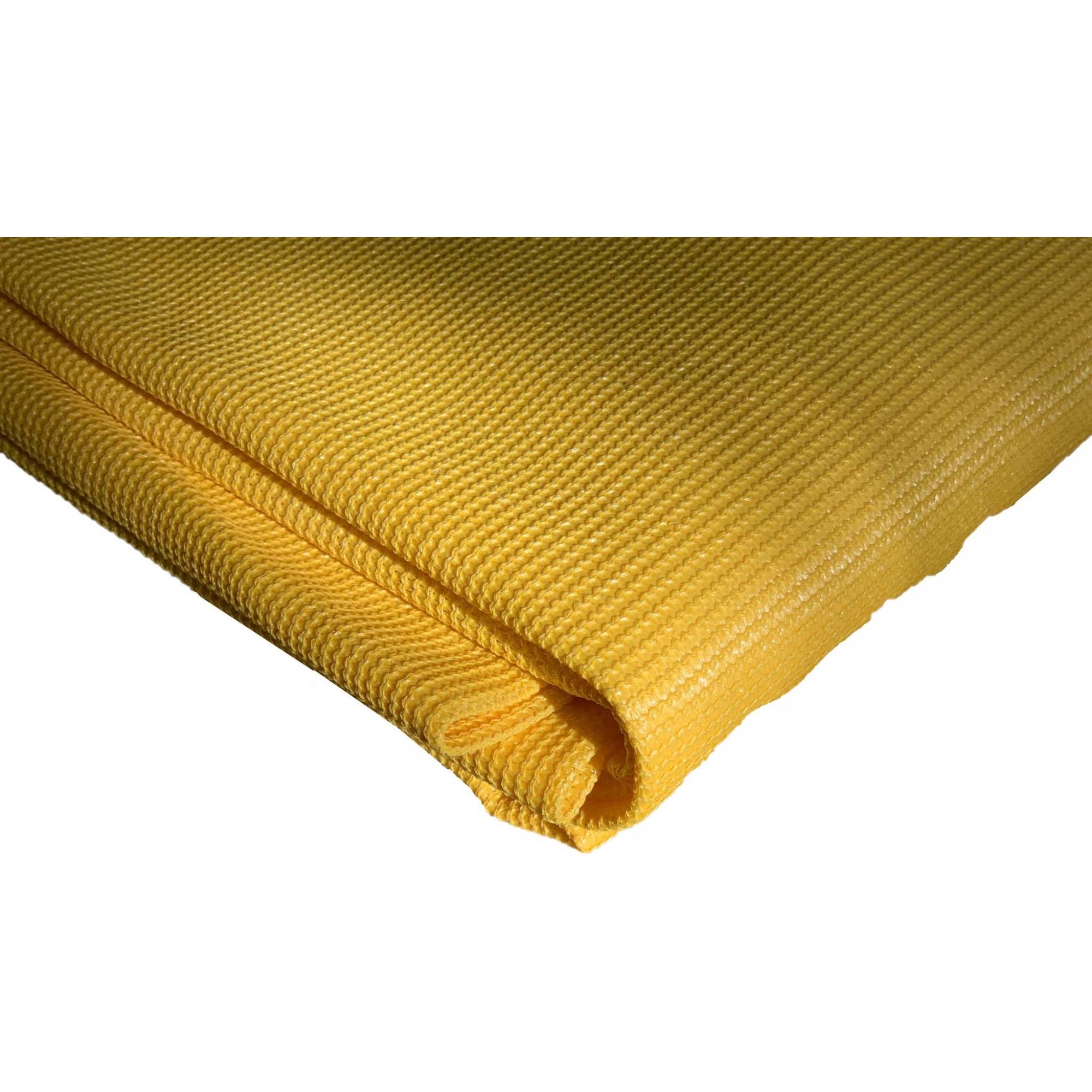 Tela De Sombreamento Decorativa Amarela 90% - 5,2 Metros X 10 Metros