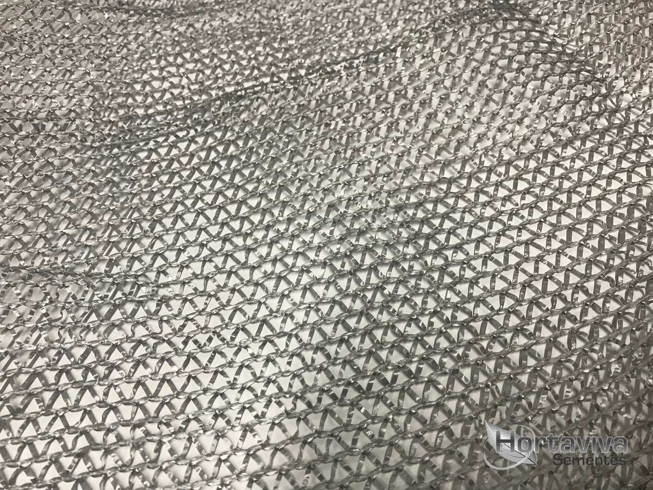 Tela de Sombreamento Prata Termo Refletora Freshnet - Largura: 12 Metros