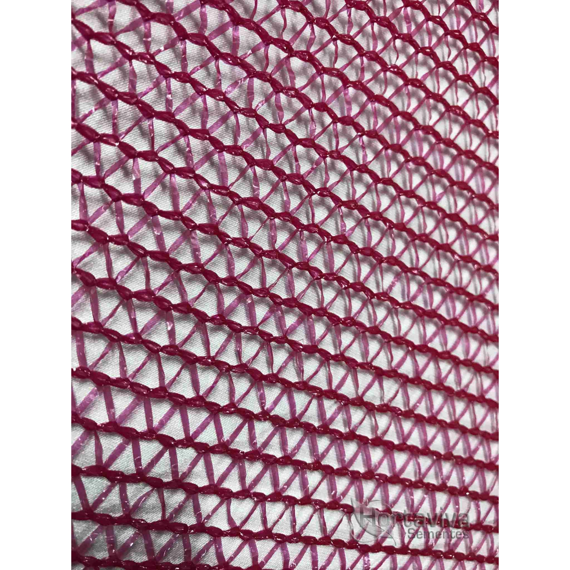 Tela de Sombreamento Vermelha Ultranet - Largura: 10 Metros