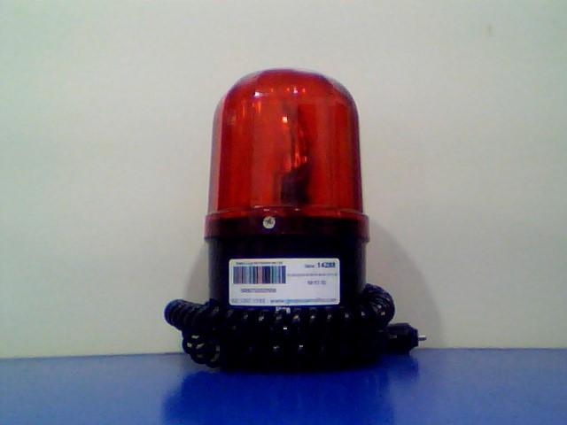 FH300 Sinalizador Visual Rotativo, Vermelho – 12Vcc