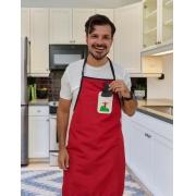 Avental Assinado Vermelho Gilson Home - Ícones