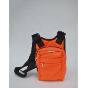 Bolsa Transversal Cross Bag Laranja Patrick