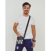 Bolsa Transversal Cross Bag Preta Ben Calçadão