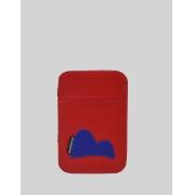 Carteira Mágica Masculina Slim Vermelha Lucas Pão