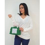 Mini Bolsa de Mão Verde Lory