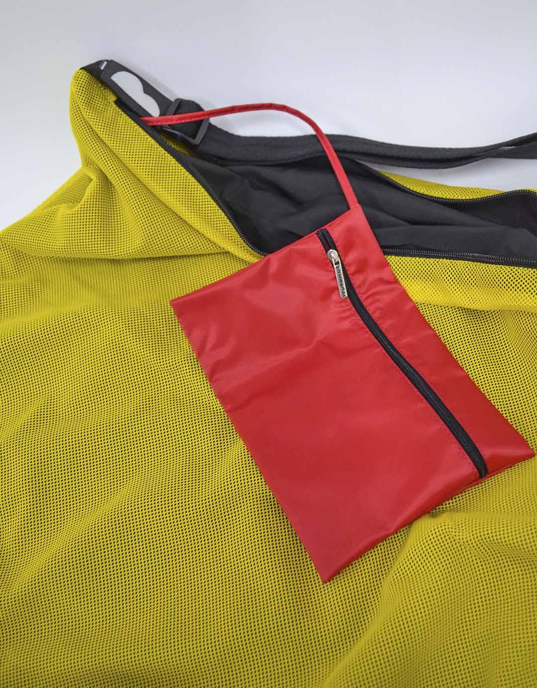 Bolsa Amarela Fitness Camila