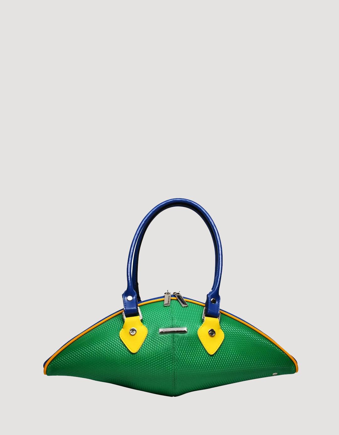 Bolsa Baguette Verde Exclusiva Balão