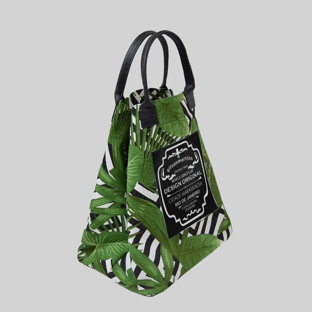 Bolsa Balde de Mão Caiapó Verde Fefa Plus