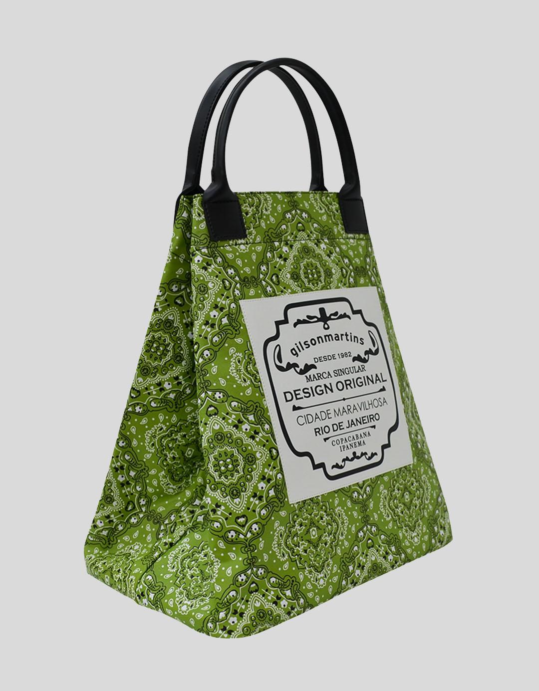Bolsa Balde de Mão Fefa Plus - Árabe Verde
