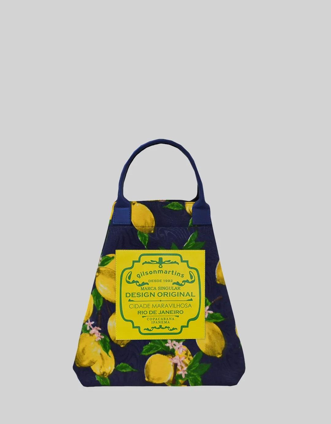 Bolsa Balde de Mão Limão Siciliano Fefa Plus