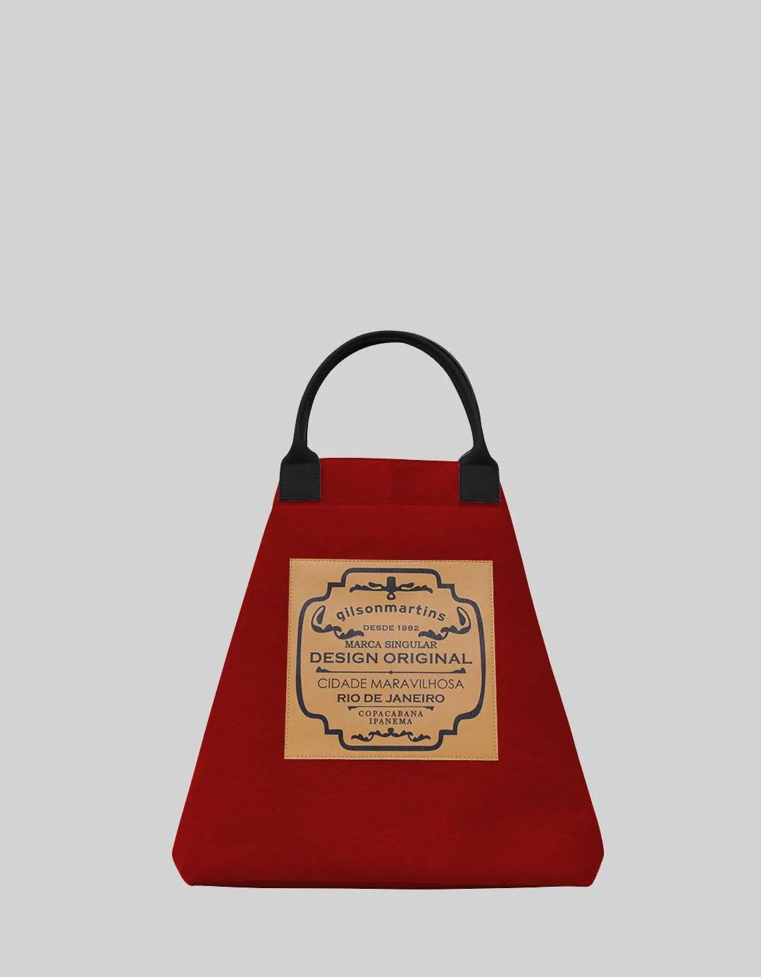 Bolsa Balde de Mão Vermelha Fefa