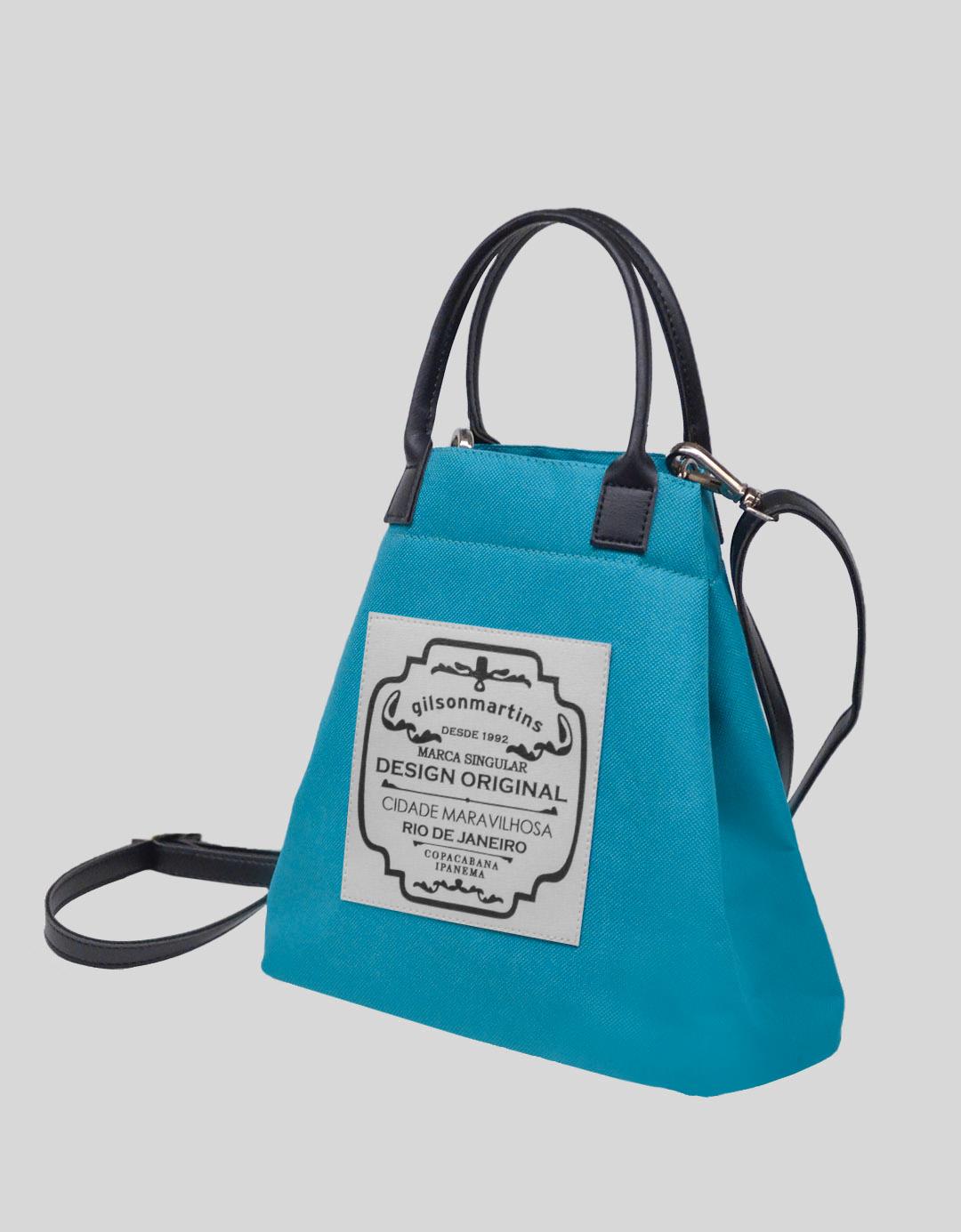 Bolsa Balde Tiracolo Azul Profundo Fefinha