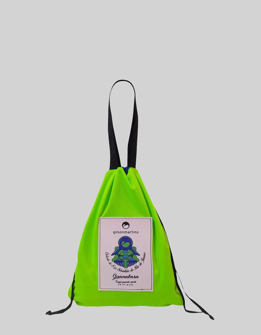 Bolsa Berta Malha Verde