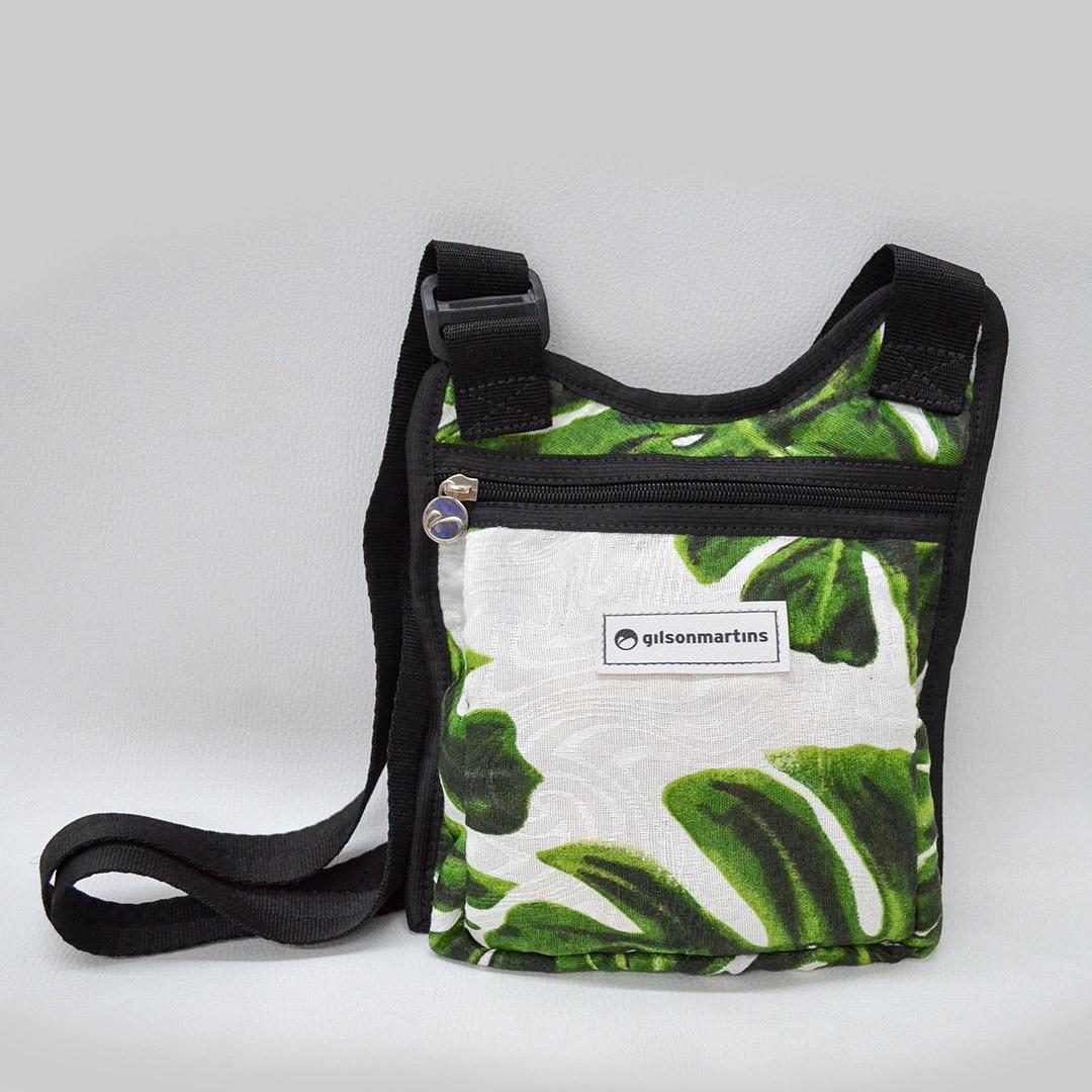 Bolsa Caio Estampa Adão Verde