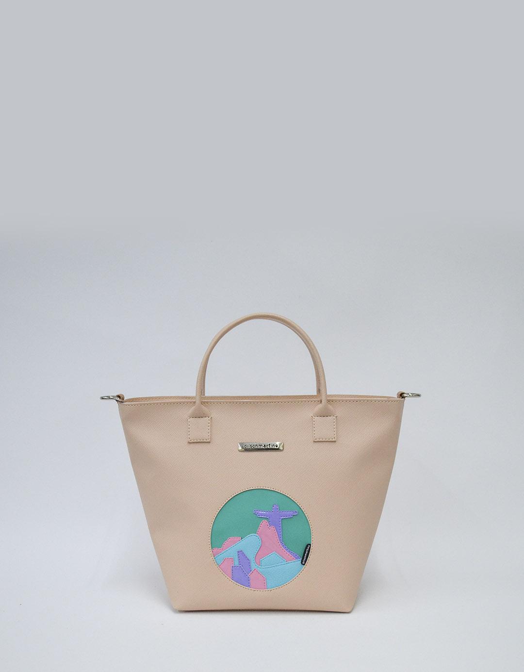 Bolsa Customizada Nude Exclusiva Bela Lixo Nobre