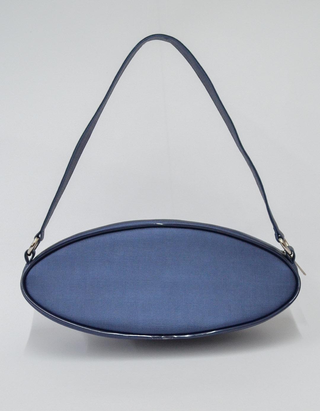 Bolsa de Mão Azul Débora Rotnes