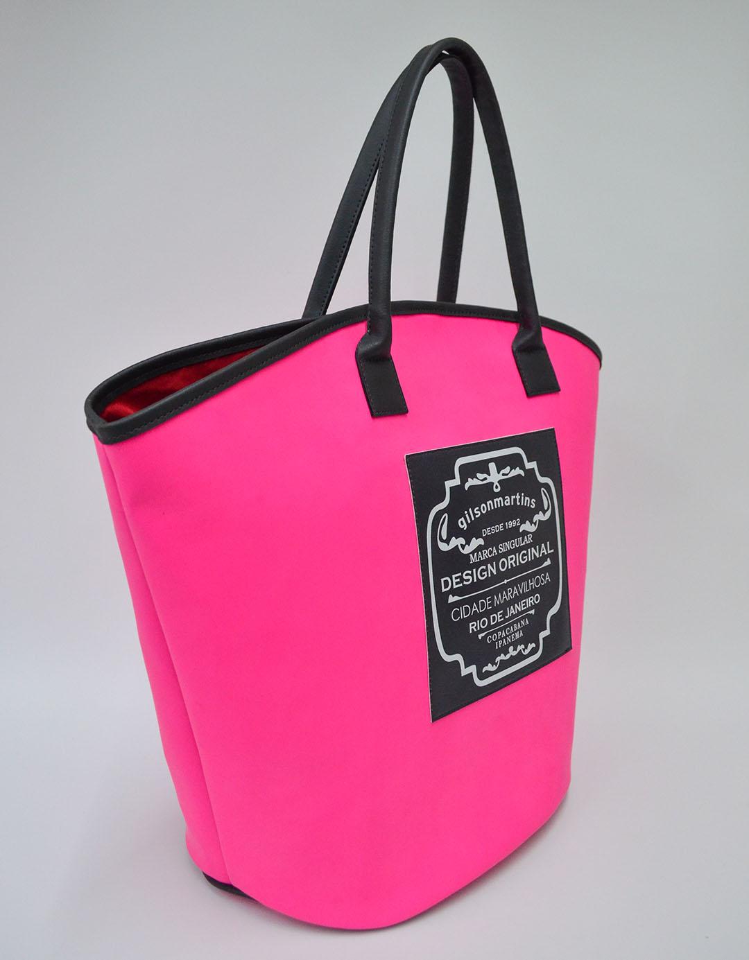 Bolsa de Ombro Maíra Label - Rosa