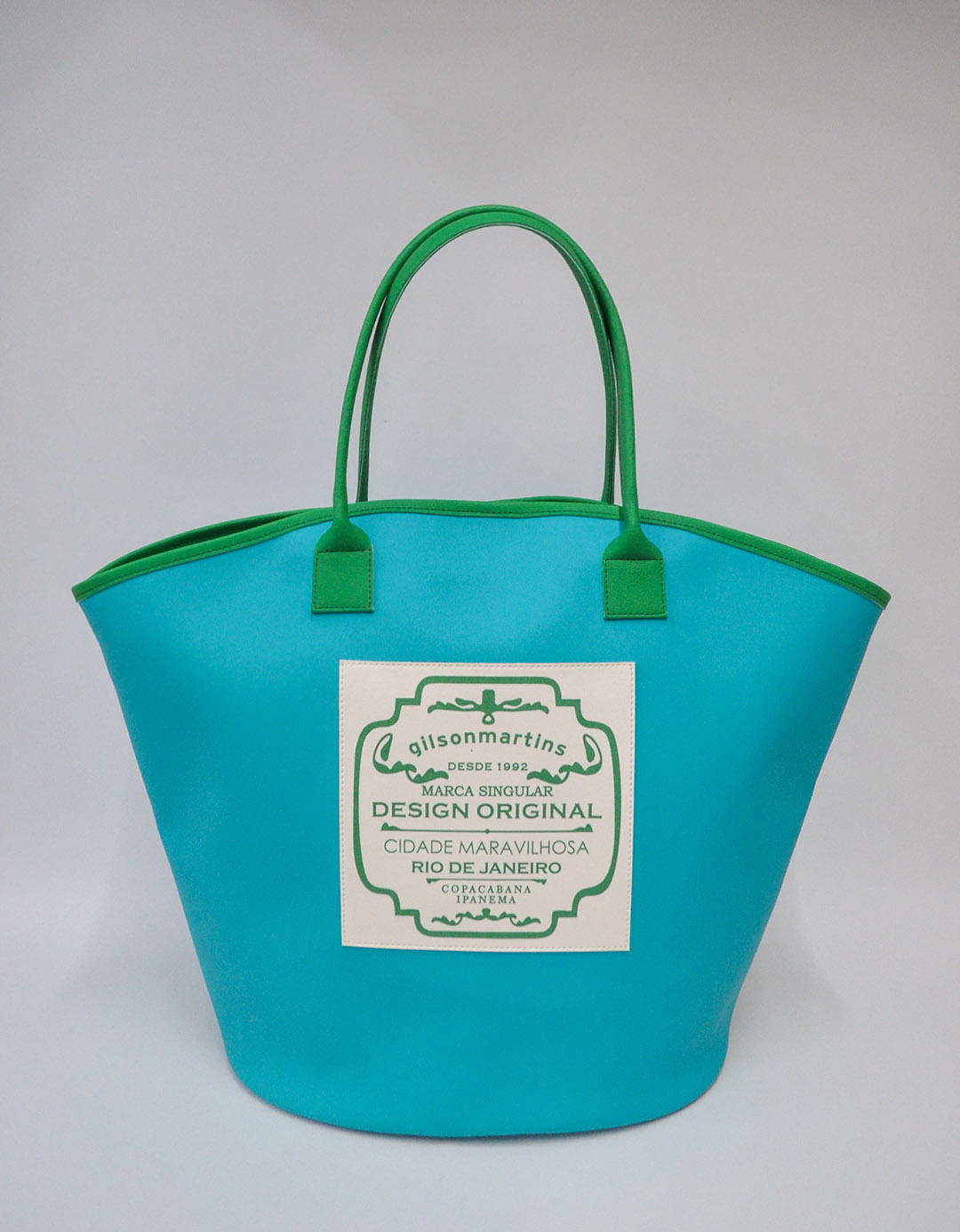 Bolsa de Ombro Maíra Label - Verde