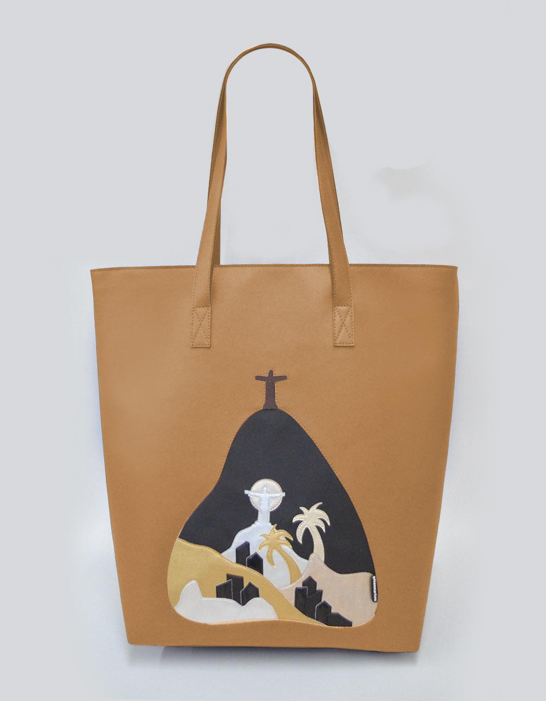 Bolsa de Ombro Camelo Vega Lixo Nobre