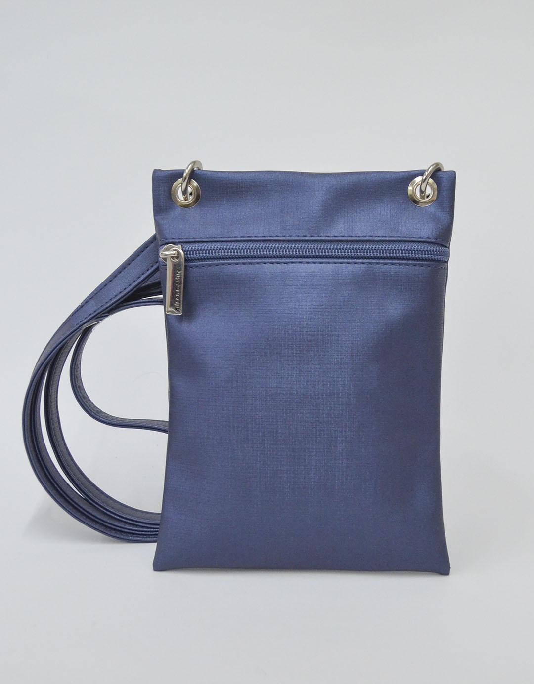 Bolsa Tiracolo Azul Kassu