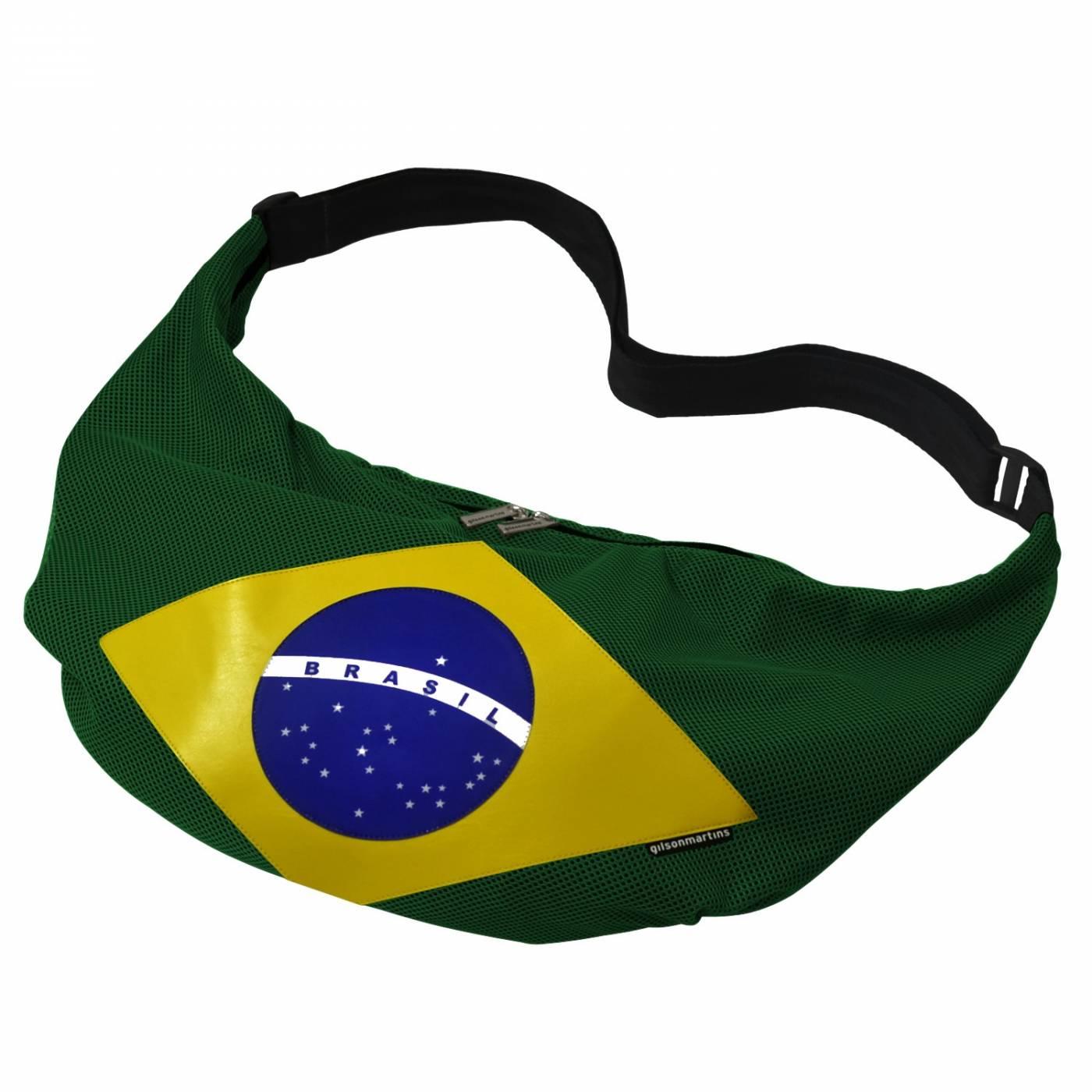 Bolsa Transversal Brasil Fitness Praia Rafting