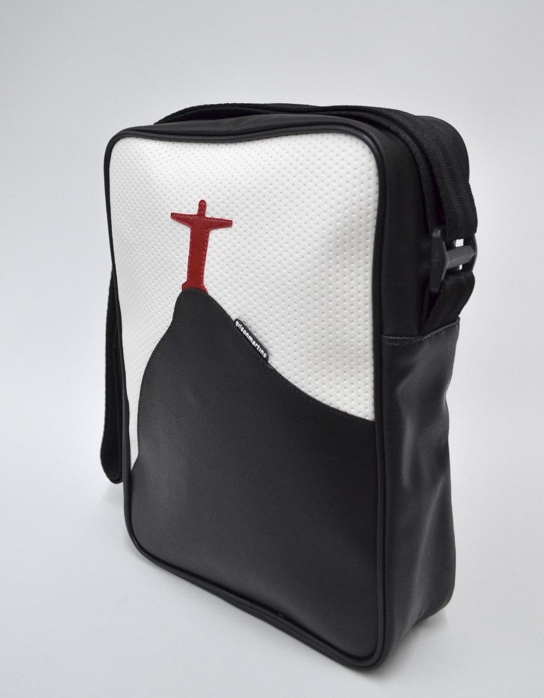 Bolsa Transversal Cross Bag Branca Festival