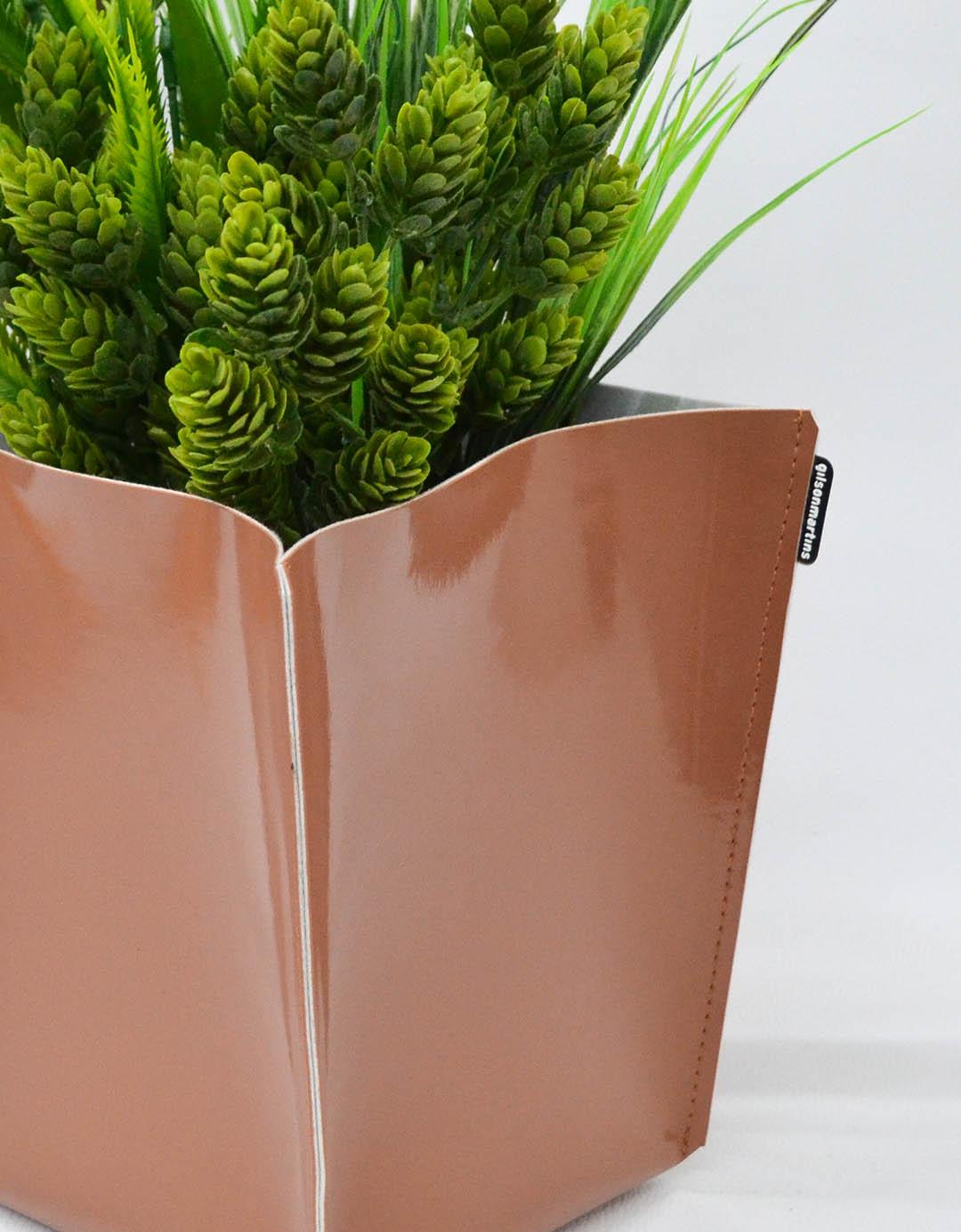 Cachepot Decorativo Assinado Gilson Home - Vaso GG