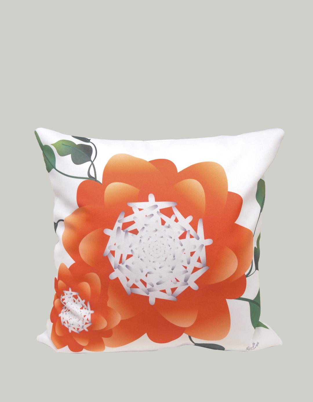 Capa de Almofada Assinada Gilson Home - Floral