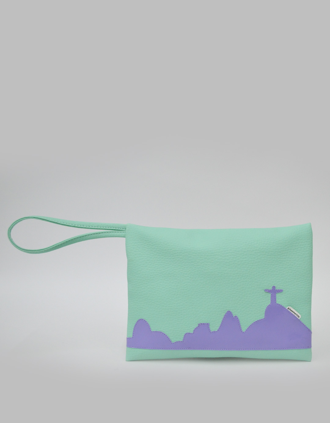 Clutch Multiuso Verde tipo Envelope Paty