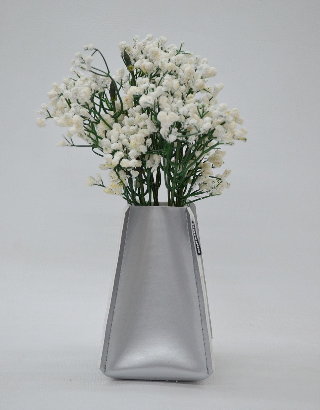 Cachepot Decorativo Assinado Gilson Home - Vaso PP Alto