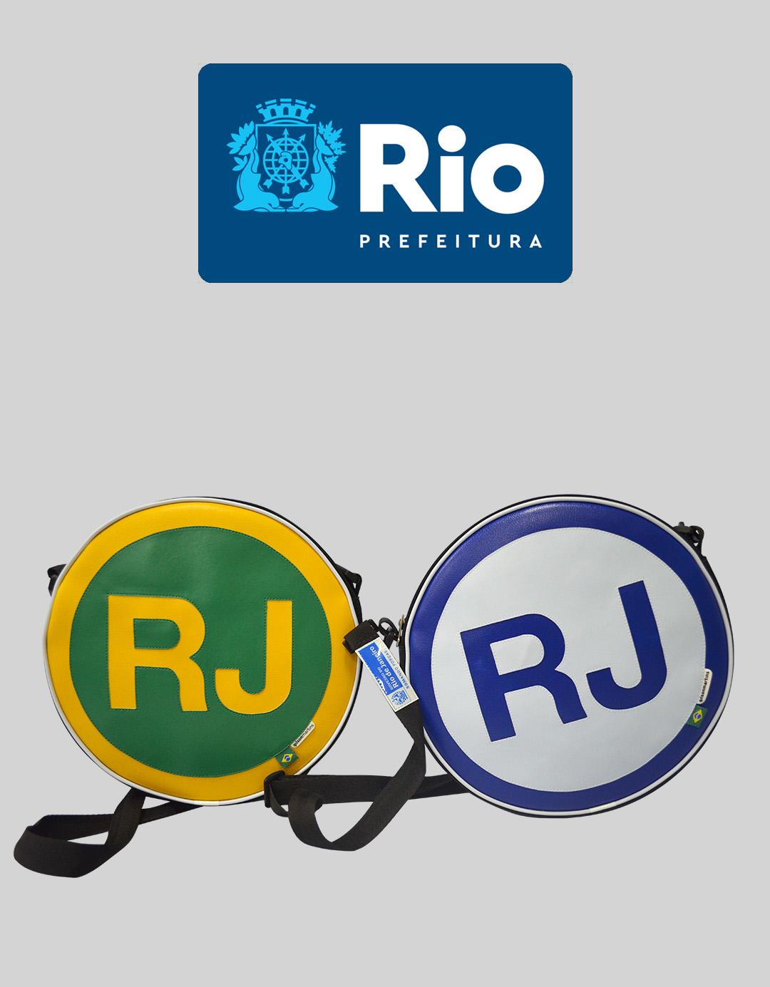 Governo Estado do RJ  Mochila marca RJ