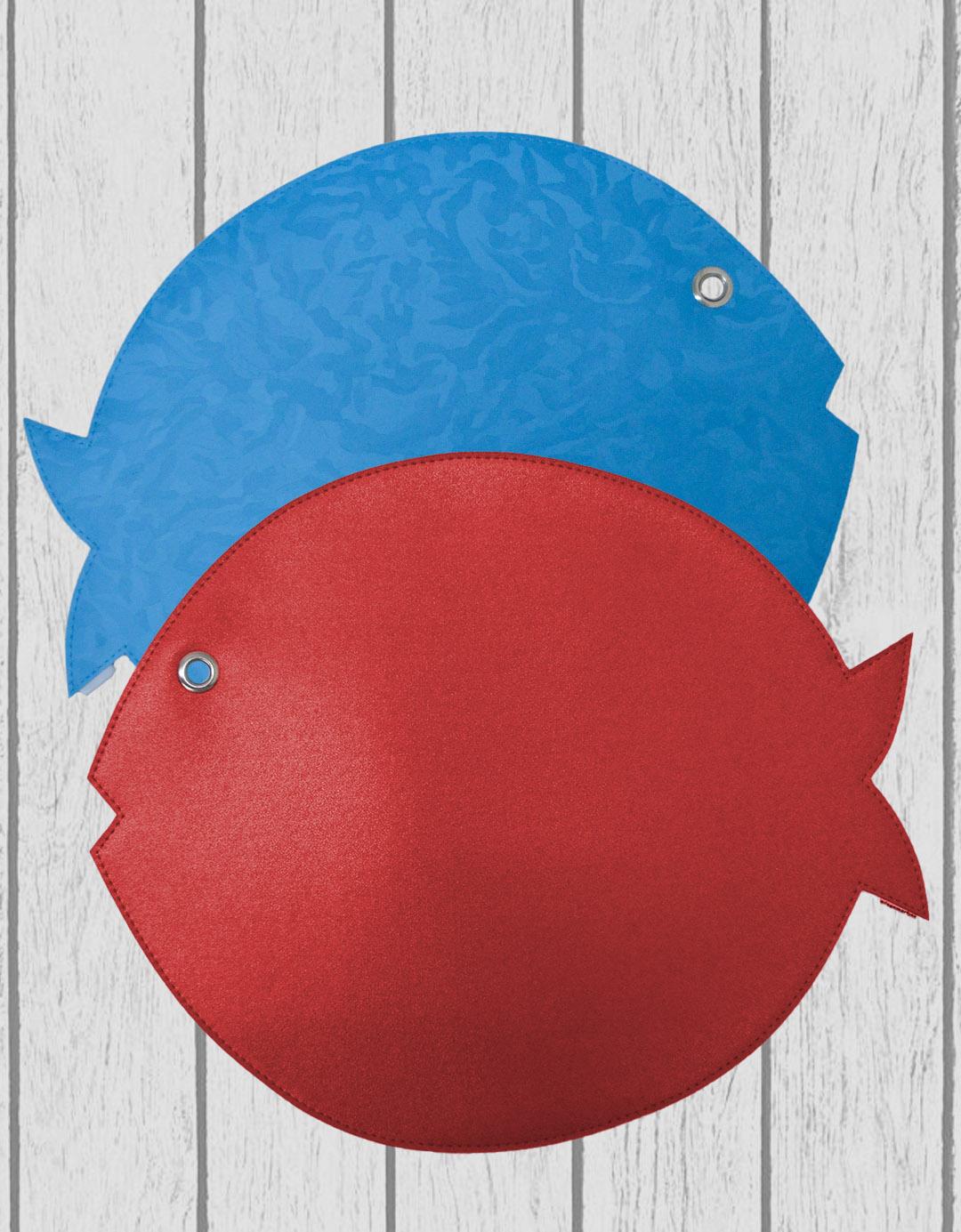Jogo Americano Dupla Face Assinado Gilson Home - Peixe