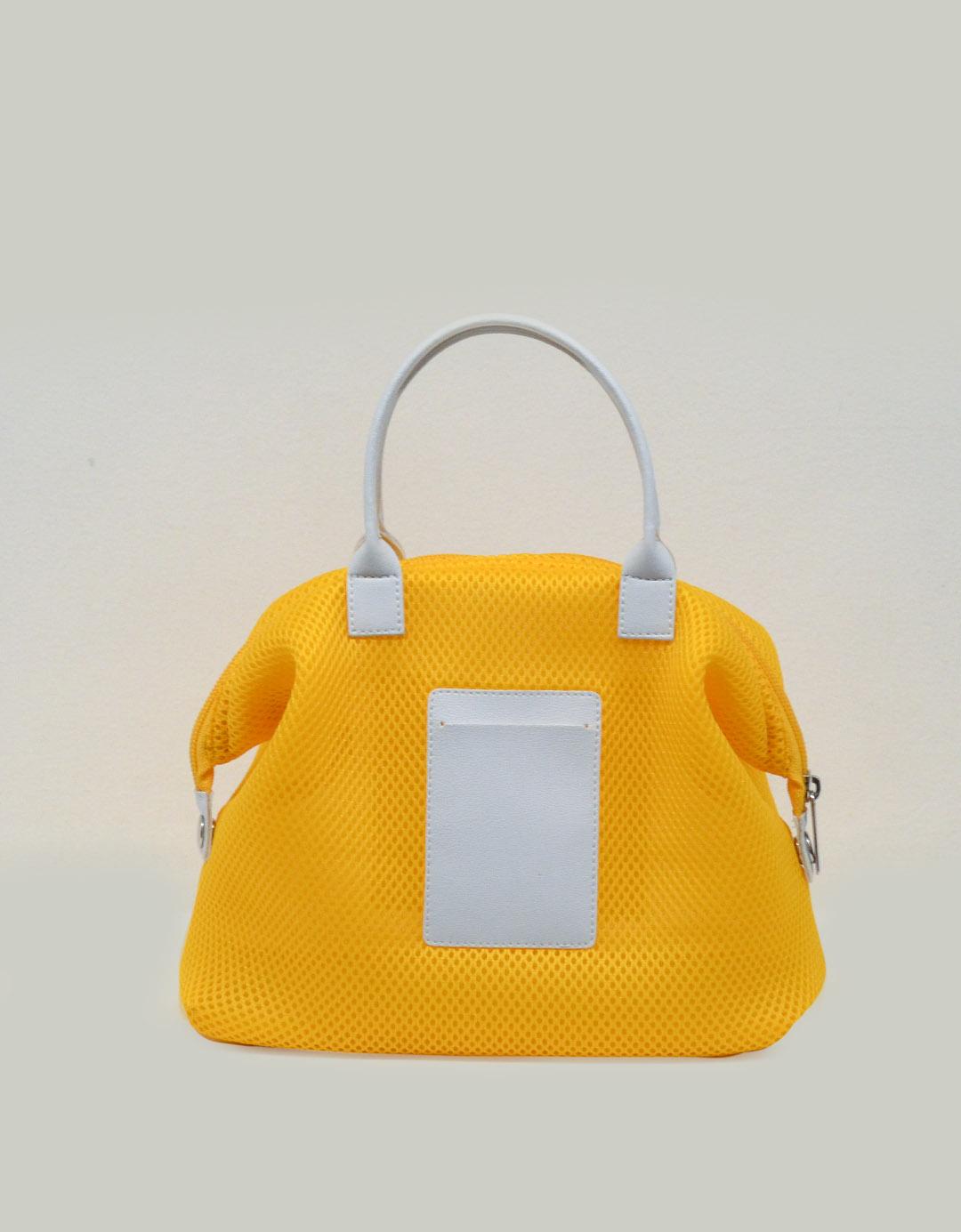 Mini Bolsa de Mão Amarela Lory