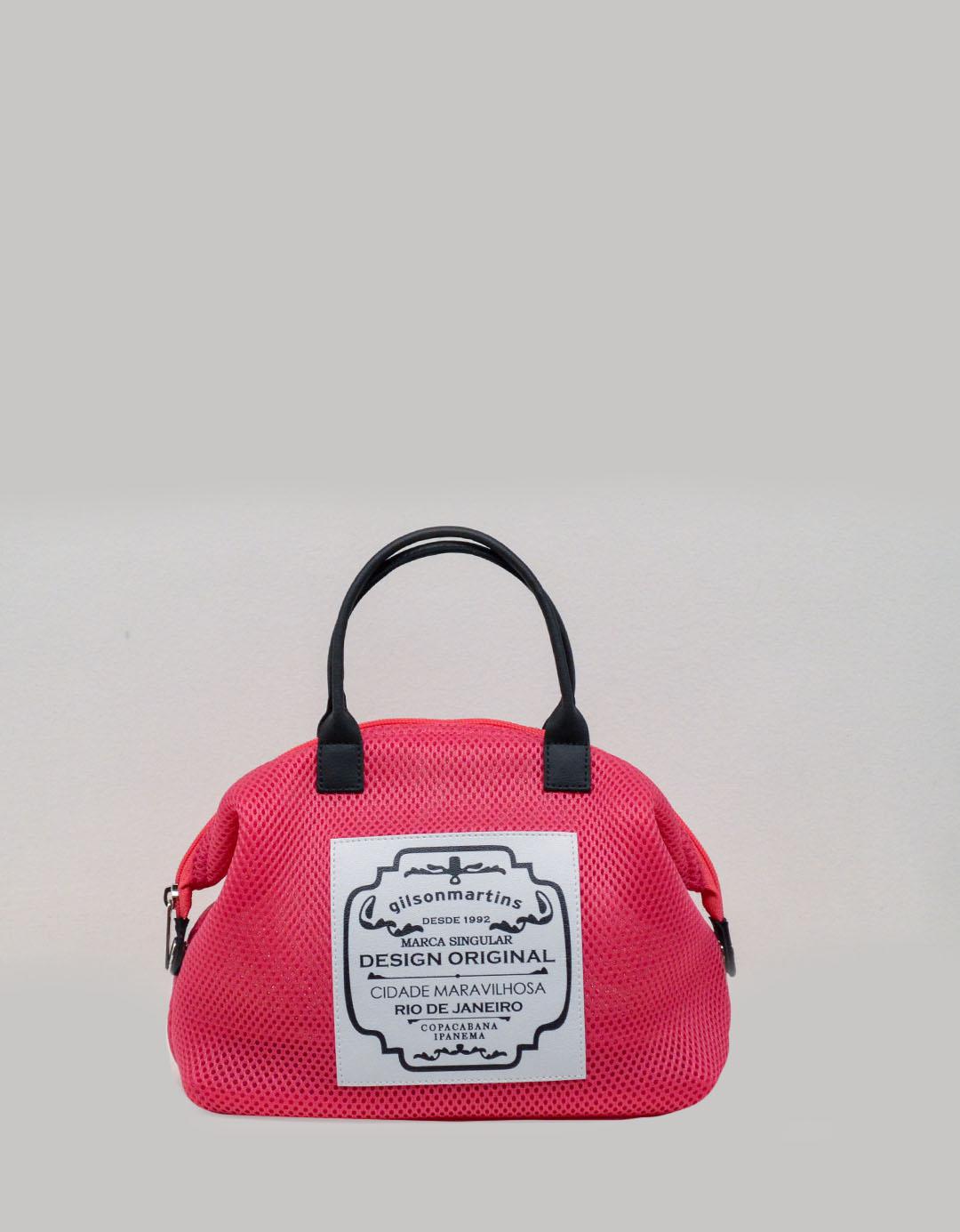 Mini Bolsa de Mão Rosa Lory