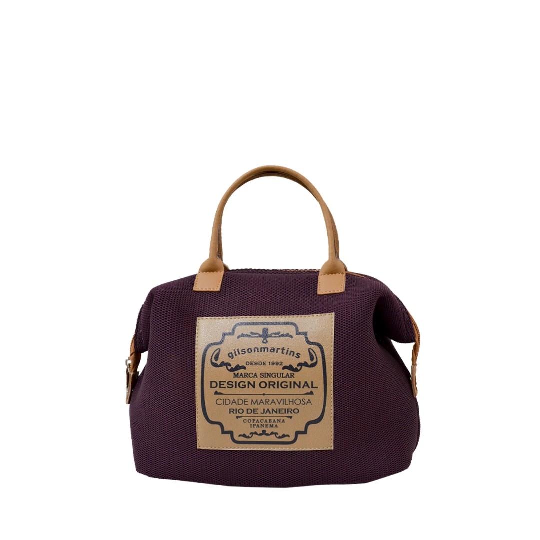 Mini Bolsa de Mão Vinho Lory