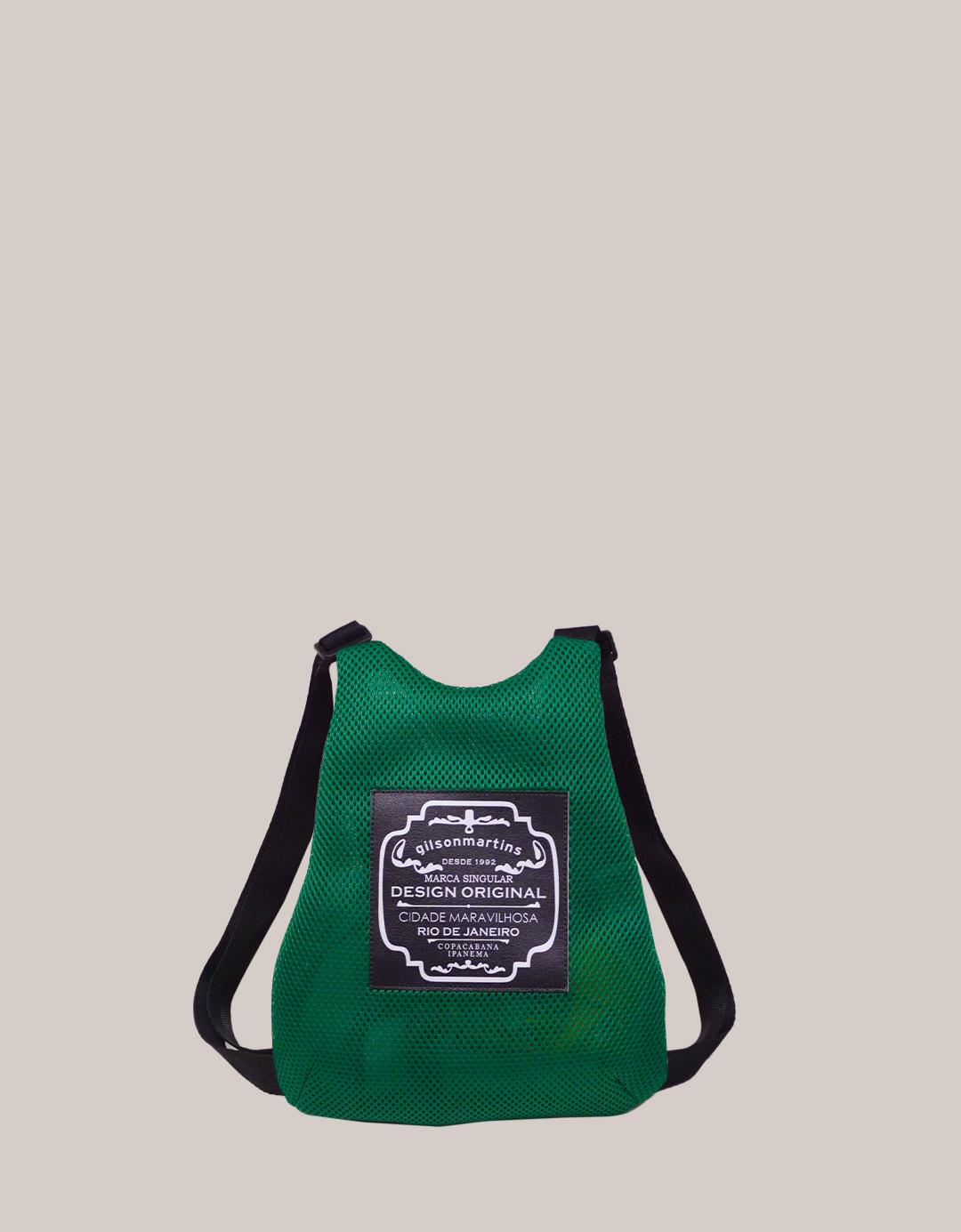 Mini Mochila Verde Fitness Lola