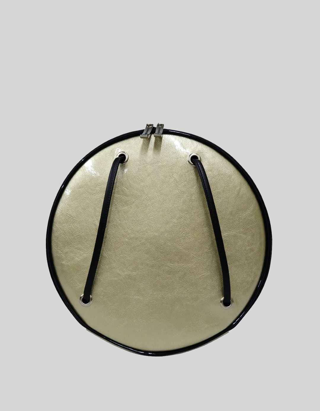 Mochila Divertida Ouro Exclusiva Disco LP