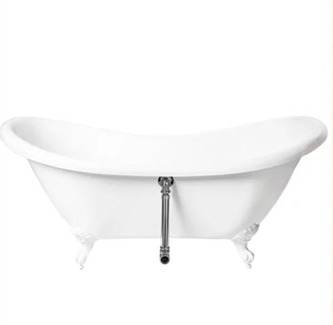 Banheira de Imersão Immersi Clássica Branca Modelo Antigua