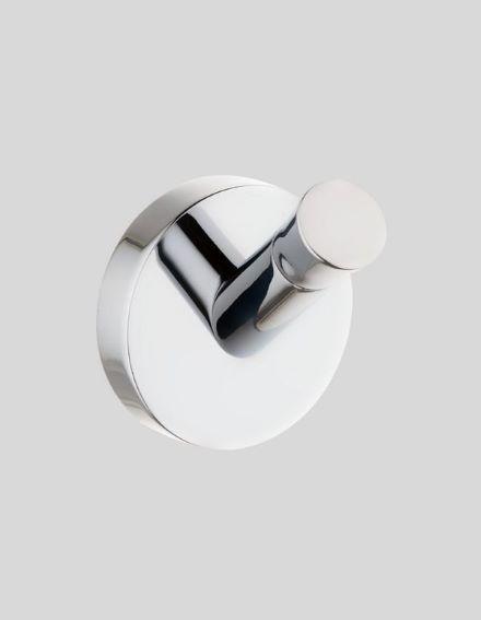 Cabideiro Simples Acabamento Cromado - Linha Nápoli
