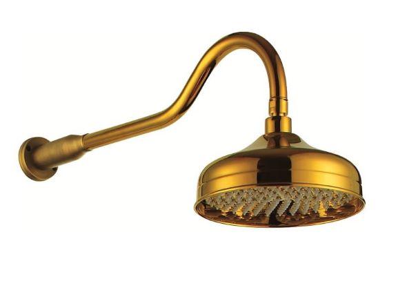 Chuveiro Bracci Dourado