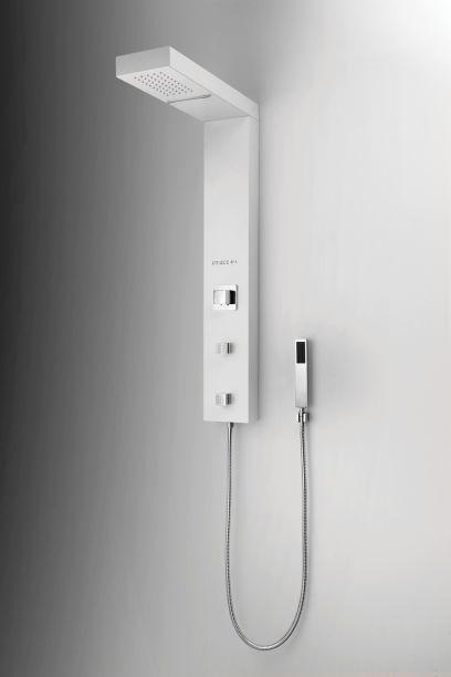 Unique Spa Coluna de Banho Acabamento Branco Fosco -  Linha Smart